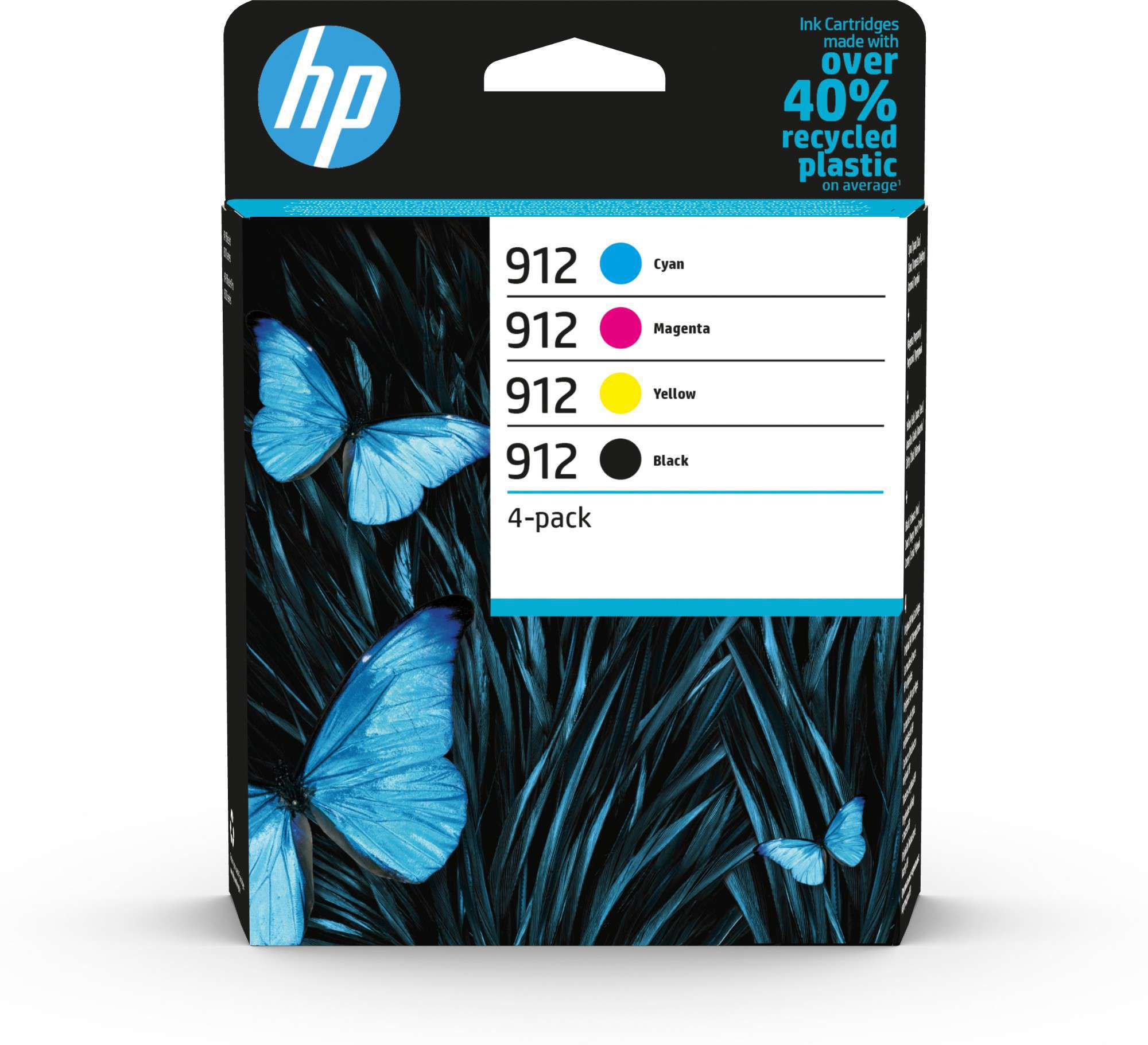 HP Original 912 Combo Pack Of 4 Ink Cartridges 6ZC74AE