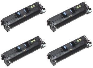 Compatible Canon 718 Set Of 4 Toner Cartridges (Black,Cyan,Magenta,Yellow)