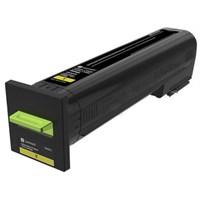 Original Lexmark 72K20Y0 Yellow Toner Cartridge