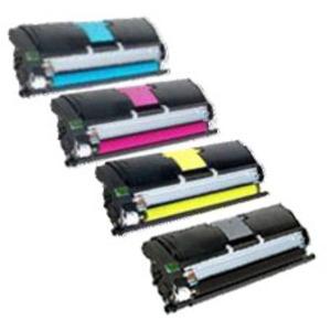 Konica Minolta Original A00W Toner Cartridge Multipack (Black/Cyan/Magenta/Yellow)
