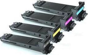 Compatible Konica Minolta A0DK Set Of 4 Toner Cartridges (Black,Cyan,Magenta,Yellow)