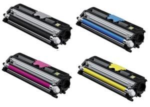 Konica Minolta Original A0V30 High Capacity Toner Cartridge Multipack (Black/Cyan/Magenta/Yellow)
