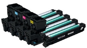 Compatible Konica Minolta A0WG0 High Capacity Toner Cartridge Multipack (Black/Cyan/Magenta/Yellow)
