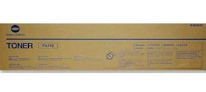 Original Konica Minolta TH-712 Black Toner Cartridge (A3VU050)