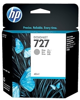 Original HP 727 Grey Ink Cartridge (B3P18A)