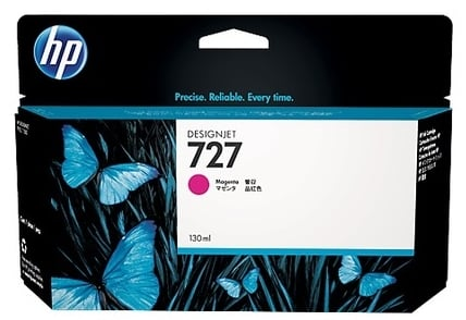 Original HP 727 High Capacity Magenta Ink Cartridge (B3P20A)