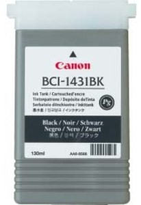 Canon Original BCI-1431BK Black Ink Cartridge (8963A001AA)