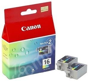Canon Original BCI-16 Colour Ink Cartridge Pack Of 2