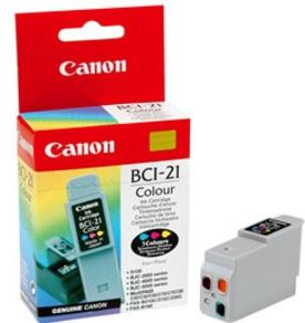 Canon Original BCI-21C Colour Ink Cartridge