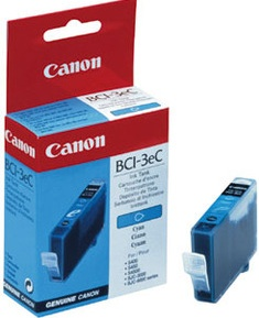 Canon Original BCI-3C Cyan Ink Cartridge