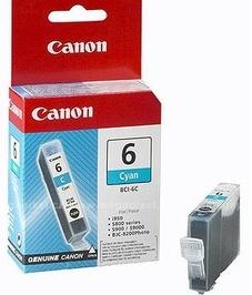 Canon Original BCI-6C Cyan Ink Cartridge