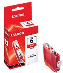 Canon Original BCI-6R Red Ink Cartridge