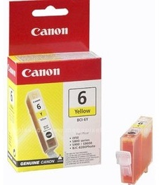 Canon Original BCI-6Y Yellow Ink Cartridge