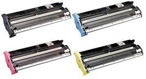 Compatible Epson C13S05003 Set Of 4 Toner Cartridges (Black,Cyan,Magenta,Yellow)