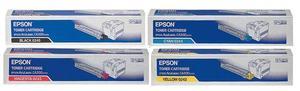 Epson Original S05024 Toner Cartridge Multipack (Black/Cyan/Magenta/Yellow)