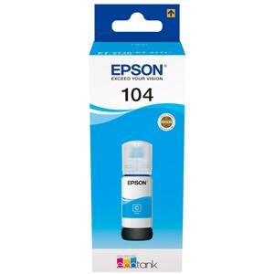 Original Epson 104 Cyan Ecotank Ink Bottle (C13T00P240)