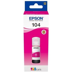 Original Epson 104 Magenta Ecotank Ink Bottle (C13T00P340)