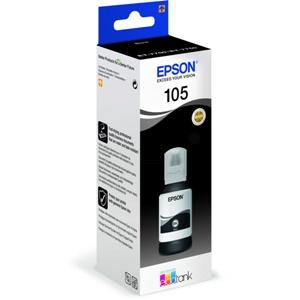 Original Epson 105 Black Ecotank Ink Bottle (C13T00Q140)