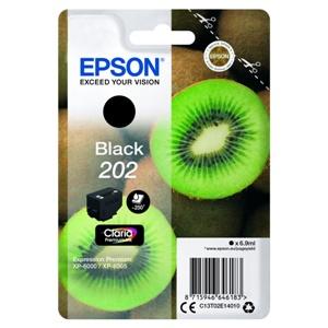 Original Epson 202 Black Inkjet Cartridge (C13T02E14010)