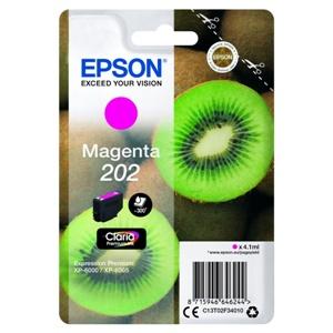 Original Epson 202 Magenta Inkjet Cartridge (C13T02F34010)