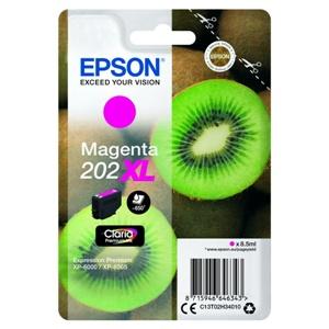 Original Epson 202XL Magenta High Capacity Inkjet Cartridge (C13T02H34010)