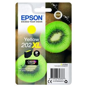Original Epson 202XL Yellow High Capacity Inkjet Cartridge (C13T02H44010)