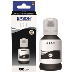 Original Epson 111 Black Ink Bottle (C13T03M140)