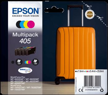 Epson Original 405 Ink Cartridge Multipack (Black/Cyan/Magenta/Yellow)