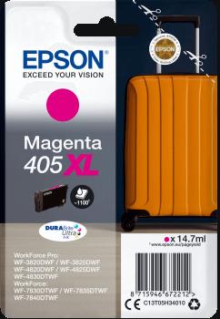 Epson Original 405XL Magenta High Capacity Ink Cartridge C13T05H34010