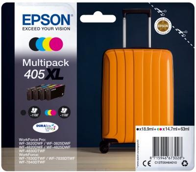 Epson Original 405XL High Capacity Ink Cartridge Multipack (Black/Cyan/Magenta/Yellow)