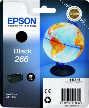 Epson Original 266 Black Ink Cartridge (C13T26614010)