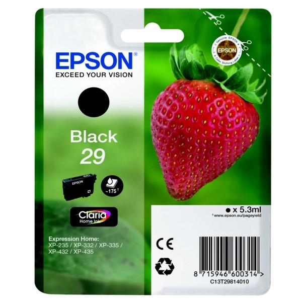 Epson Original 29 Black Ink Cartridge (T2981)
