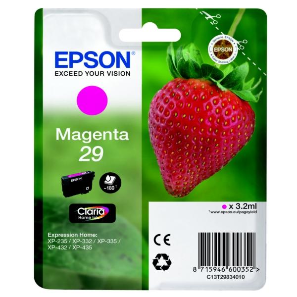 Epson Original 29 Magenta Ink Cartridge (T2983)