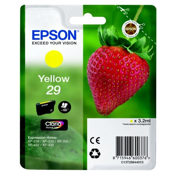 Epson Original 29 Yellow Ink Cartridge (T2984)