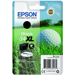 Original Epson 34XL Black High Capacity Inkjet Cartridge (C13T34714010)