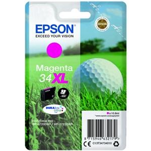 Original Epson 34XL Magenta High Capacity Inkjet Cartridge (C13T34734010)