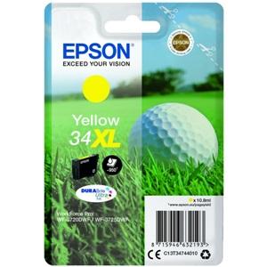Original Epson 34XL Yellow High Capacity Inkjet Cartridge (C13T34744010)