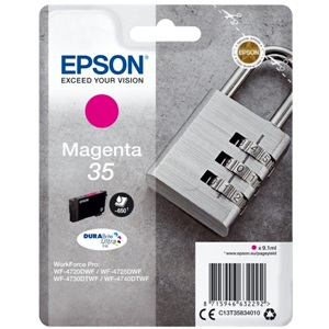 Original Epson 35 Magenta Inkjet Cartridge (C13T35834010)