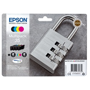 Original Epson 35 Inkjet 4 Colour Cartridge Multipack (C13T35864010)