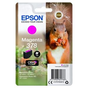 Original Epson 378 Magenta Inkjet Cartridge (C13T37834010)