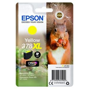 Original Epson 378XL Yellow High Capacity Inkjet Cartridge (C13T37944010)