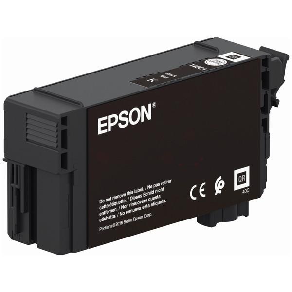 Original Epson T40C1 Black Inkjet Cartridge C13T40C140