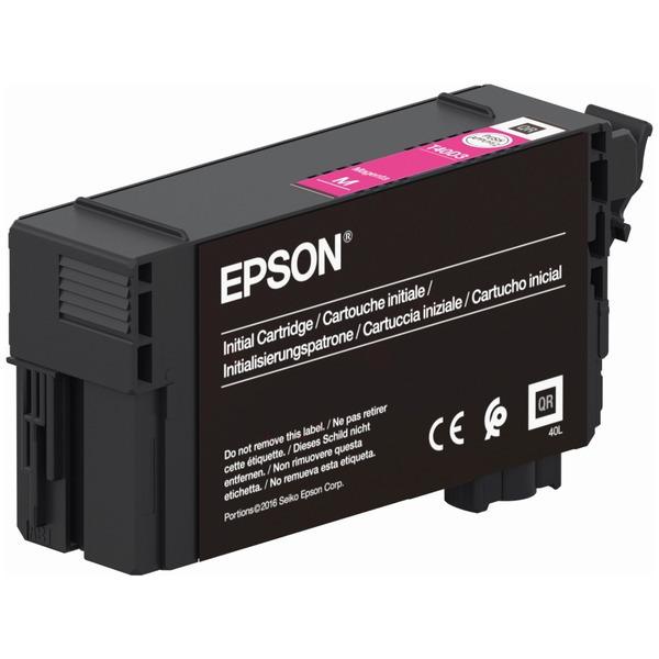 Original Epson T40C3 Magenta Inkjet Cartridge C13T40C340