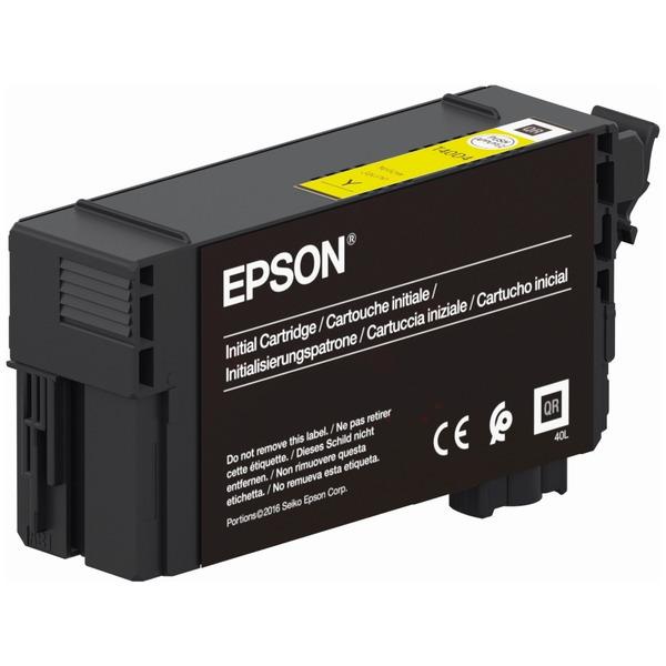 Original Epson T40C4 Yellow Inkjet Cartridge C13T40C440