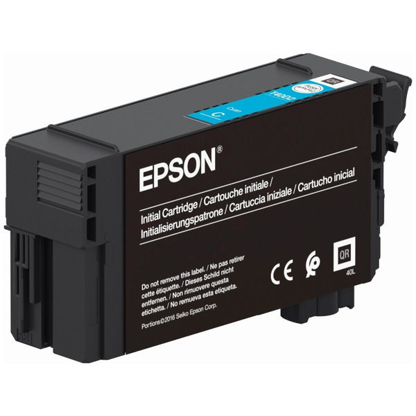 Original Epson T40D2 Cyan Inkjet Cartridge C13T40D240