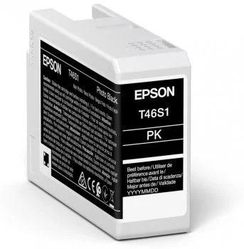 Original Epson T46S1 Photo Black Inkjet Cartridge C13T46S100
