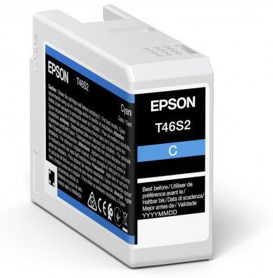 Original Epson T46S2 Cyan Inkjet Cartridge C13T46S200