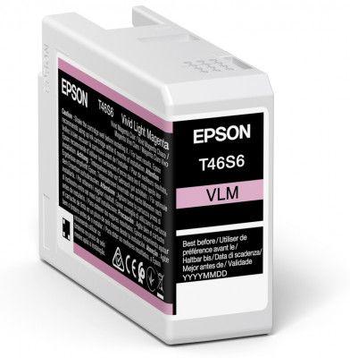 Original Epson T46S6 Light Magenta Inkjet Cartridge C13T46S600