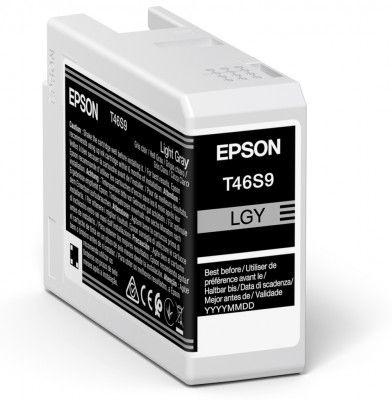 Original Epson T46S9 Light Grey Inkjet Cartridge C13T46S900