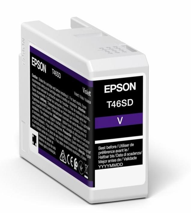 Original Epson T46SD Violet Inkjet Cartridge C13T46SD00